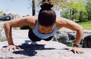 Toning Arm utöva rutiner för kvinnor