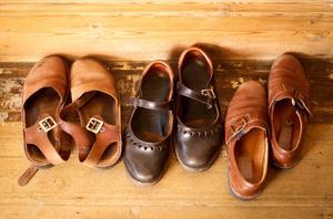 Ta bort rostfläckar från läder