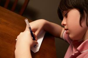 Hur man undervisar vänsterhänt skrift