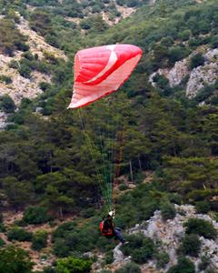 Hur man använder en packpåse för en Paraglider