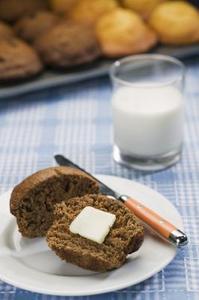 Fri från mjölk och soja smör substitut