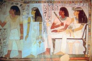 Hur man gör en egyptisk Toga