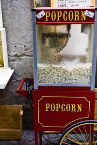 Gamla hederliga film tid Popcorn Maker instruktioner