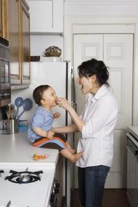 Tabell livsmedel idéer för en 11 månader gammal Baby