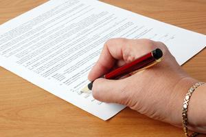 Syftet med en ansökningsblankett för ett jobb