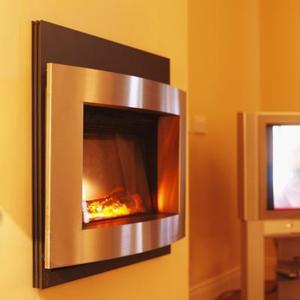 Hur man dekorera med elektrisk eldstäder & kaminer