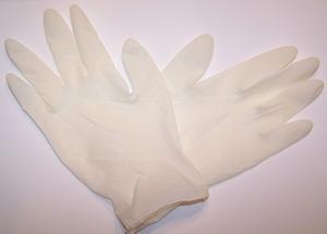 Vad är latex handskar används för?
