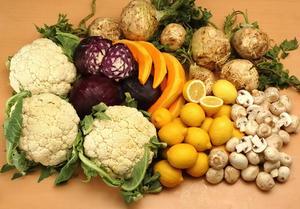 Vilka är de olika livsmedelsgrupper?
