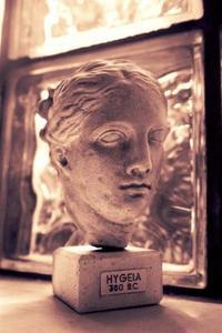 Antika grekiska gudinnan frisyrer