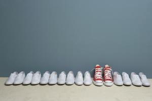 Typer av sko tyg