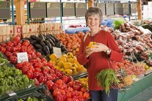 Hälsosam kost för en 50-årig kvinna