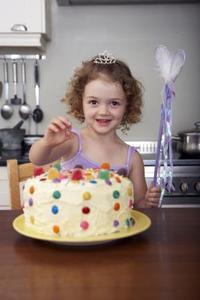 Hur att sy en födelsedag kaka kostym