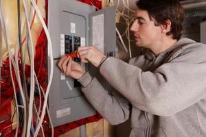 Hem elektriska ledningar färger