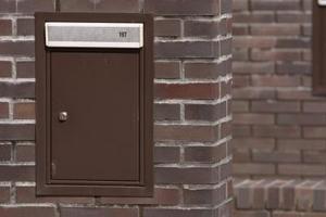 Hur att reparera en tegel brevlåda