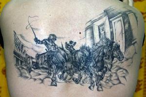 Hur man gör tatuering stenciler med karbonpapper