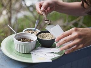 Hemgjord tepåse gåvor