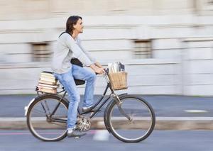 Rolig cykel inspirerande talesätt