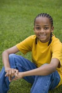 Afro-amerikanska barnen frisyrer