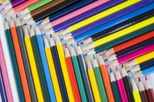Hur man rita med pastellfärgade pennor