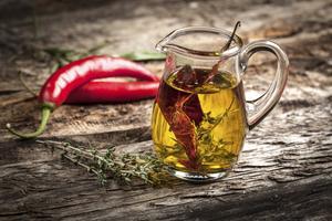 Hur man gör kryddig chiliolja