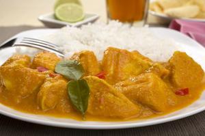 Hur man gör lätt kyckling curry