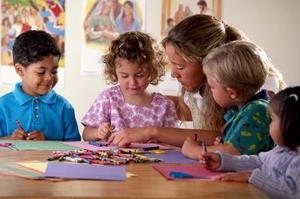 Stilla veckan hantverk för barn
