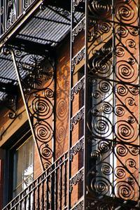 Om dekorativa Smidesjärn räcken & balkonger