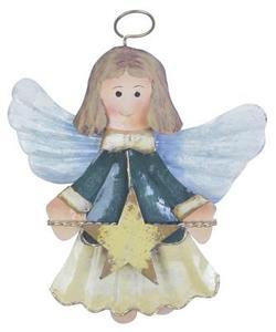 Handmålad ängel hantverk för barn
