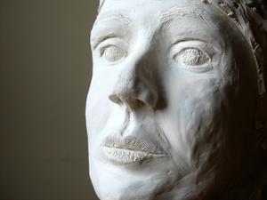 Beredning av gips av Paris & lim används i skulptera