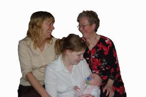 Julklappar för nya far-och morföräldrar