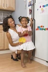 Surrande kylskåp