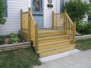 Hur man bygger en fyra steg veranda för husbil