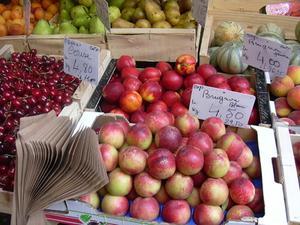 Näringsmässiga fördelarna med frukter & grönsaker
