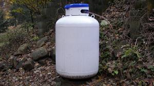 Hur man skär en 100 kilos propan tank