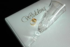 Bröllop sidlayout idéer för Scrapbooking