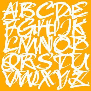 Hur att märka Graffiti alfabetet
