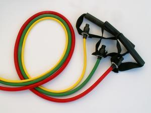 Sjukgymnastik gummiband