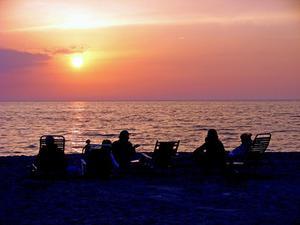 Idéer för ett sommaren Beach Party