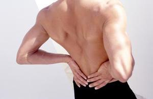 Buken ärrvävnad & ryggvärk