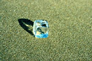 Hur man gör blå is i frysen