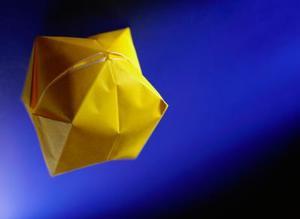 Hur man gör en Origami Spike boll