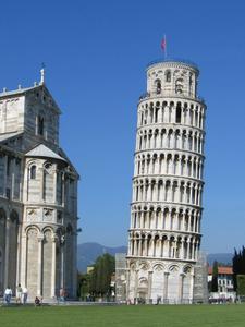 Hur man klättra det lutande tornet i Pisa