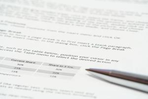 Hur man skriver en formaterad konsult rapport