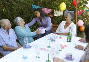 Ålderdom gag gåvor