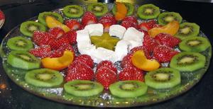 Hälsosamma kreativa frukt Snacks