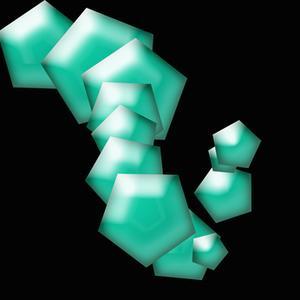 Målat glas halsband Tutorial