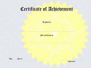 Hur man skapar certifikat awards