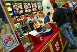 Jämförelse av Nutrition fakta för Fast Food restauranger