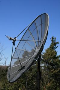 Hur man gör en satellit skålen stå