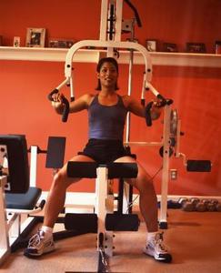 Ställa in Total Gym Platinum utrustning